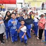Para pelajar Bintan saat bersama bupati (2)