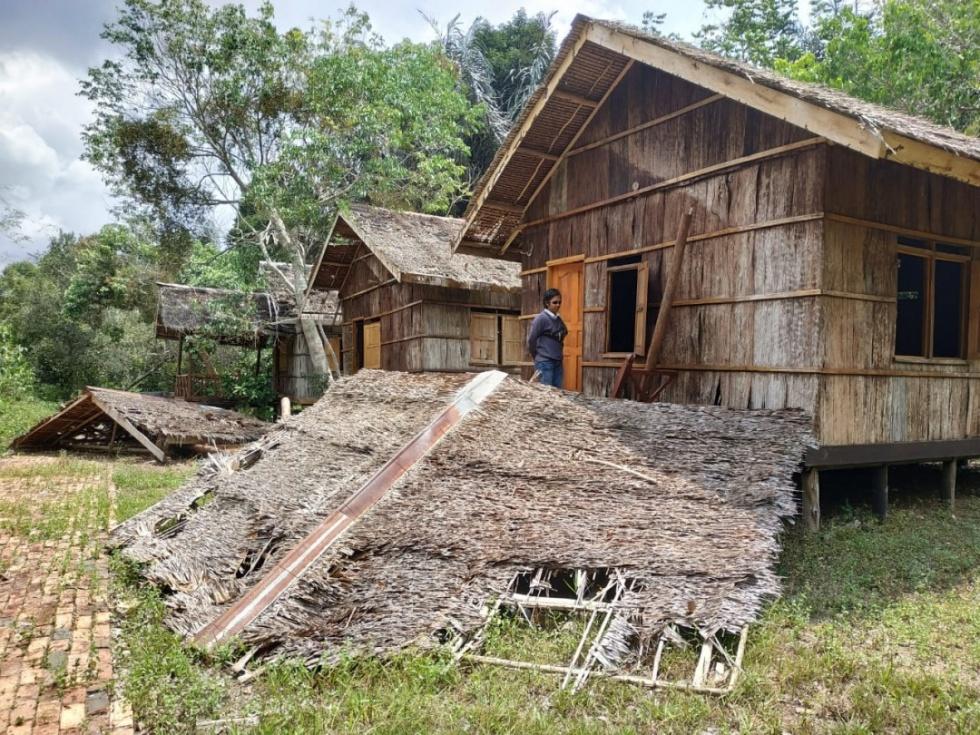 Giliran Pondok Wisata Istana Kota Rebah Terbengkalai Hingga Rusak