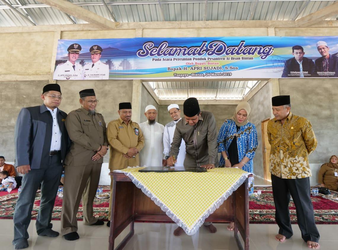 Ada 245 TPQ, Al Ihsan Ponpes Ke 11 yang Dibangun di Bintan
