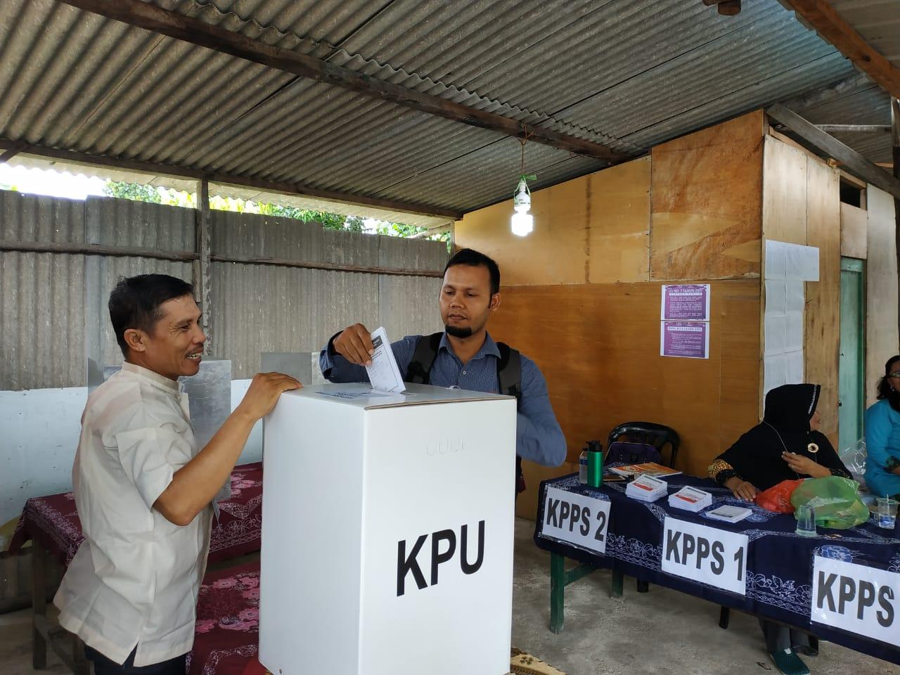 4 TPS Bukit Bestari Gelar PSU, 531 Orang Tidak Datang Coblos Ulang