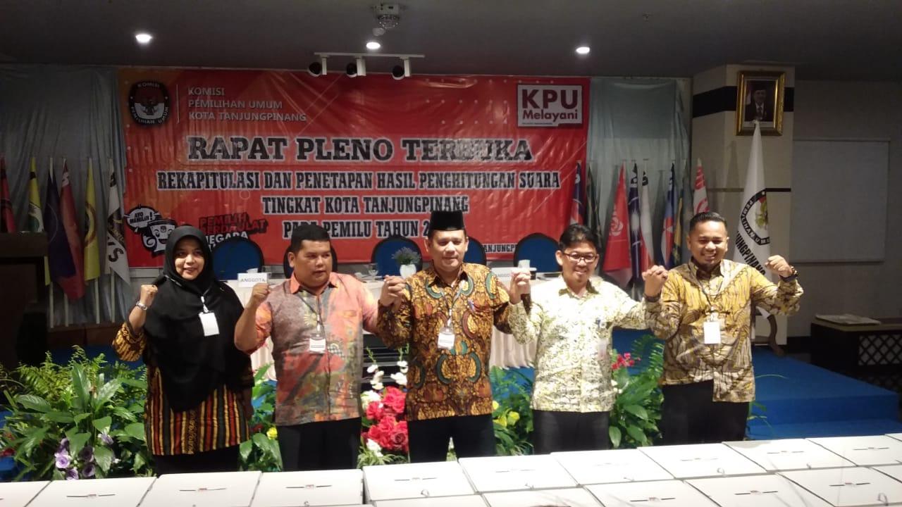 Ini Dia 30 Legislator DPRD Pinang Terpilih, Nasdem Rebut Jabatan Hanura