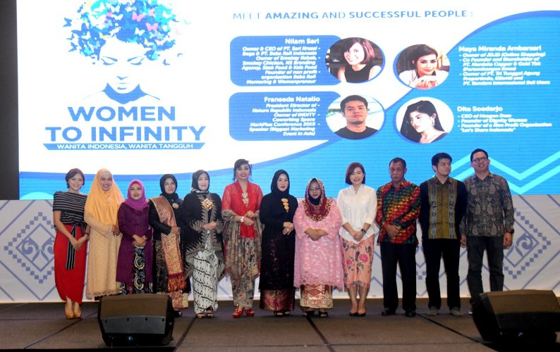 Noor Lizah Ingin Perempuan Berbuat Lebih untuk Masyarakat