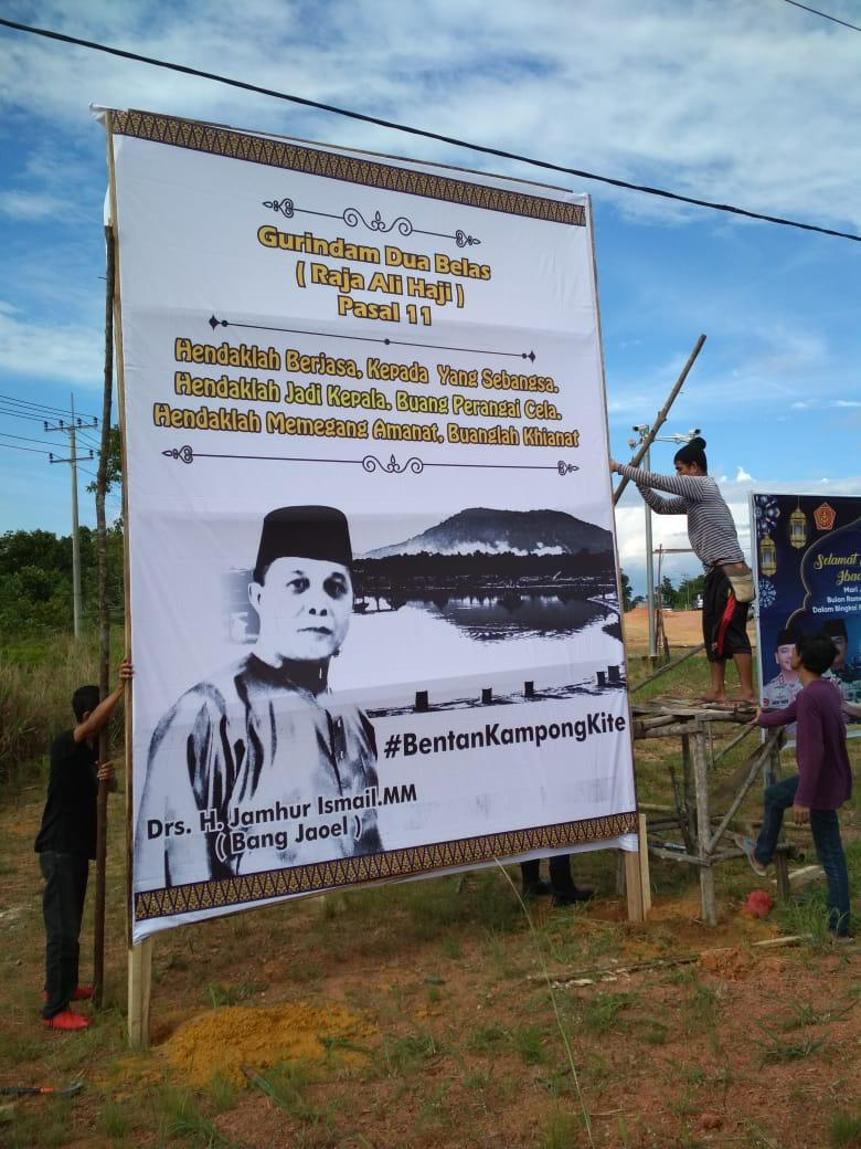 Kadishub Kepri Pastikan Maju Melawan Apri di Pilbup Bintan
