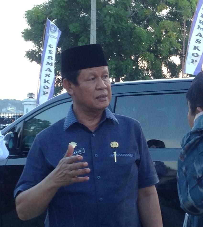 Isdianto Pesimis Pendapatan Rp 60 Miliar dari Labuh Jangkar Masuk PAD