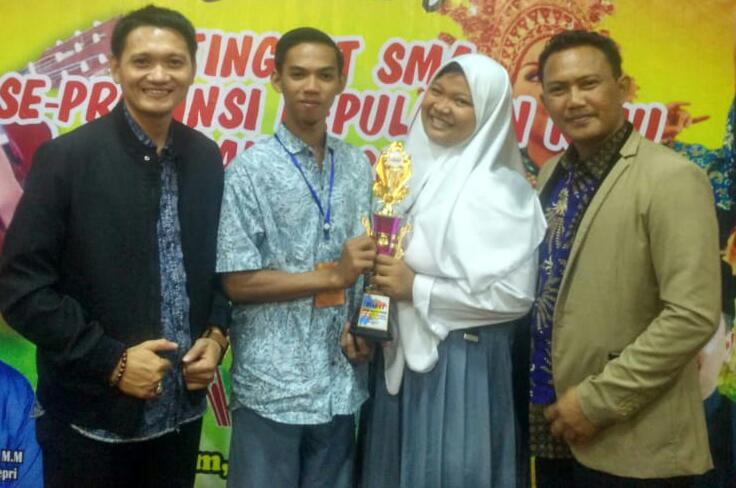 Dua Pelajar Natuna Wakili Kepri di Ajang FLS2N Tingkat Nasional