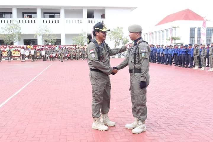Gubernur Kepri Nurdin Basirun Irup HUT ke 69 Satpol PP