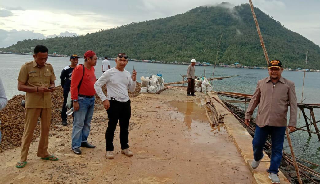 Mau Memastikan Proyek Berjalan Lancar, Hadi Pantau Pelabuhan di Pulau Tiga