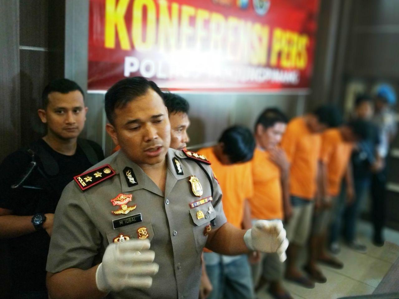 Sabu 55 Kilogram Pernah Lolos Lalui Kota Tanjungpinang