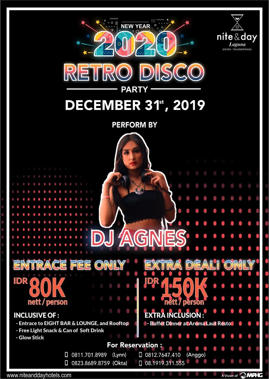 Malam Ini di Hotel Nite & Day Ada Retro Party, Dimeriahkan DJ Agnes