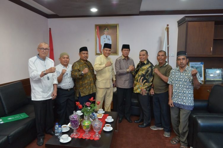 Sowan Jelang Rakerwil, Isdianto Titip Pesan ke BMKJ