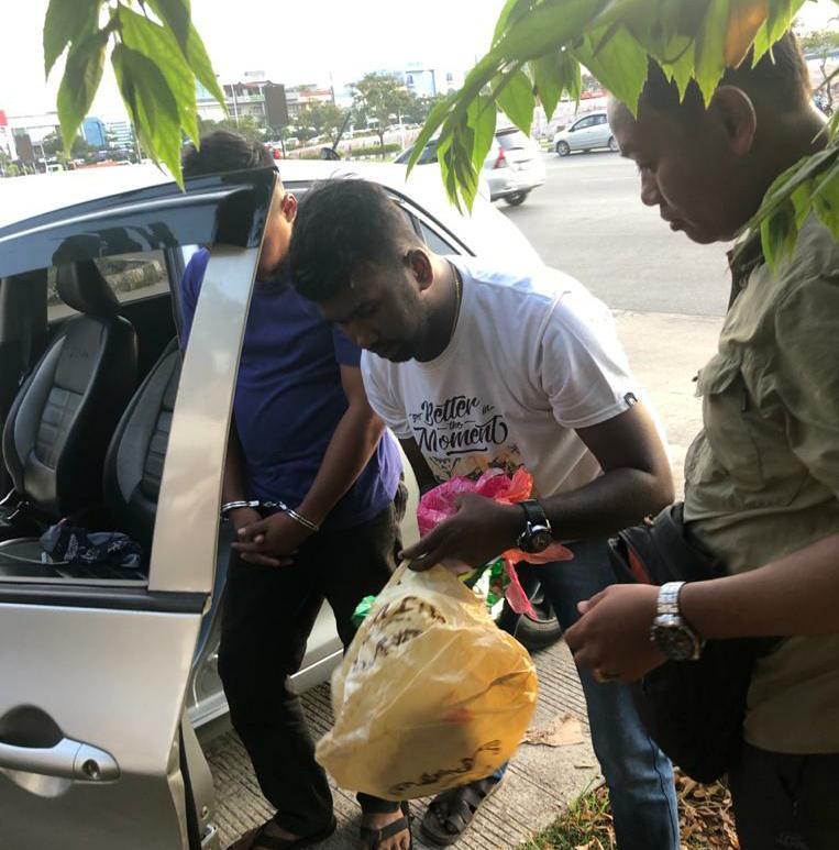 Polda Kepri Bekuk Pelaku Pembawa 1 Kilo Sabu dari Malaysia