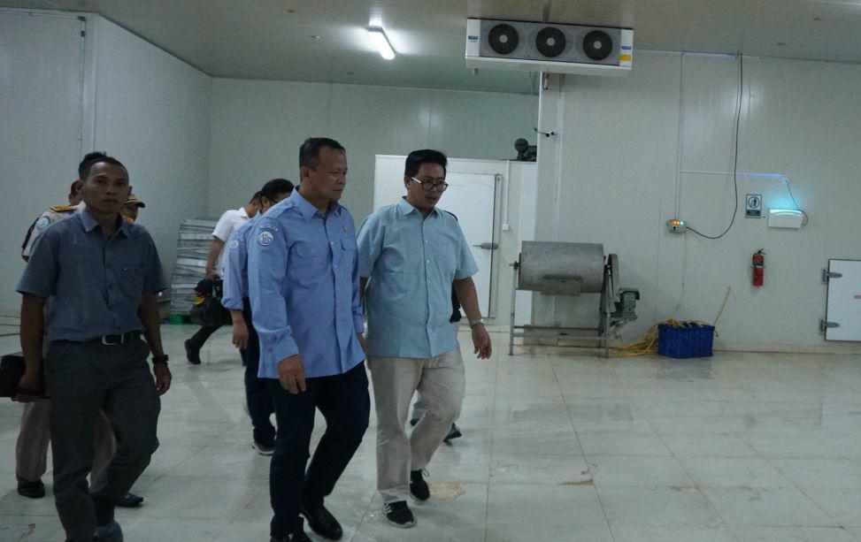 Kembali Kunjungi Natuna, Edhy Janji Maksimalkan SKPT Selat Lampa