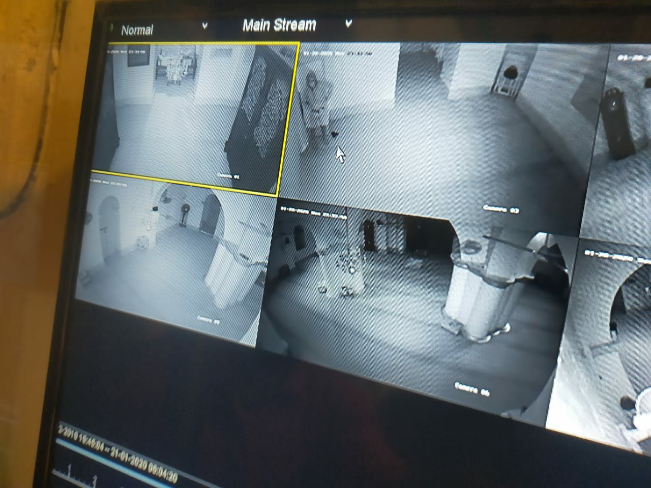 Kotak Infak Masjid Penyengat Dicuri Maling, Pelaku Terekam CCTv