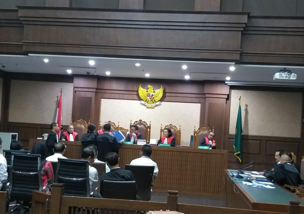 Sidang Lanjutan Nurdin, Ramai-ramai Pejabat Eselon II Pemprov Jadi Saksi