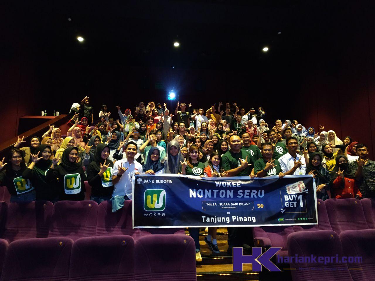 Bank Bukopin Promosi Aplikasi Wokee Lewat Nobar Film Milea