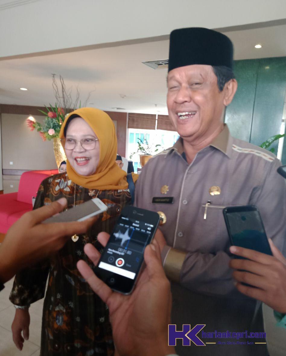 Isdianto Berbangga, Kepri Masuk Nominasi Penghargaan Pembangunan Daerah