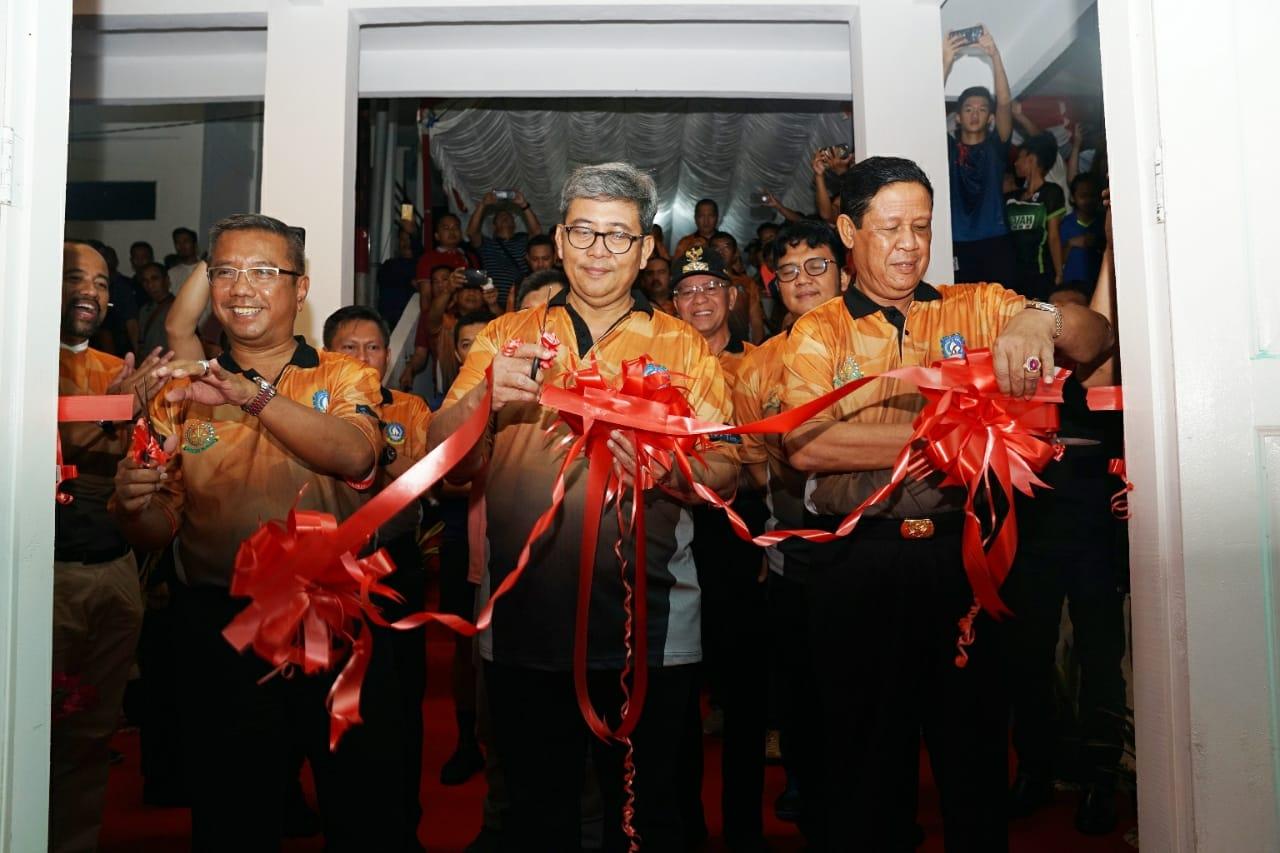 Usai Resmikan GOR Adhyaksa, Isdianto Sambut Kedatangan Panglima & Kapolri