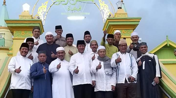 Isdianto Safari Subuh dan Silaturahmi Bersama Masyarakat Pulau Penyengat