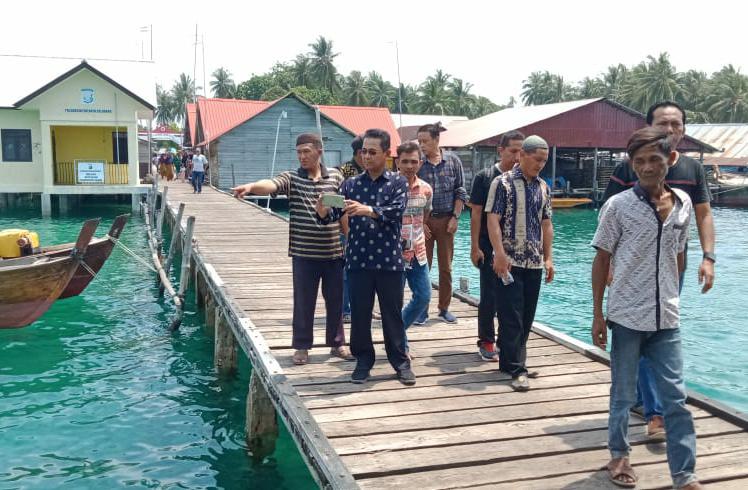 Khazalik Anggota DPRD yang Pertama Kali Kunjungi Warga Pulau Batu Belubang