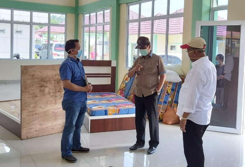 Plt Gubernur Tinjau Kesiapan RS Muhammad Sani di Karimun