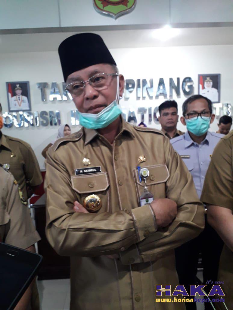 Wako Syahrul: Pejabat Pemko yang Diduga Terpapar Corona Hasilnya Negatif