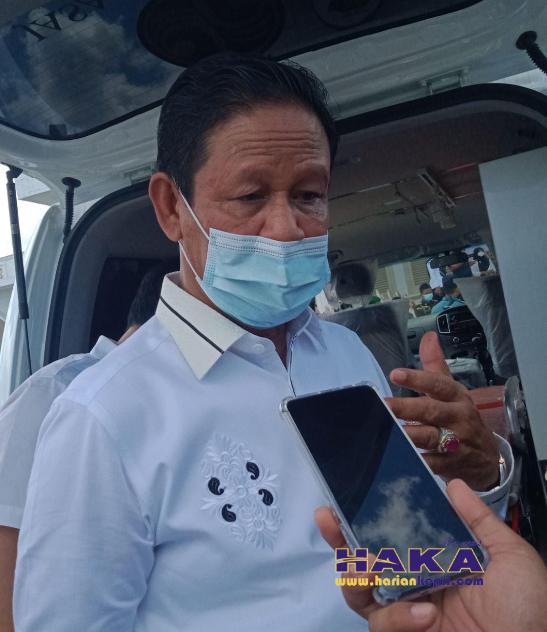 Lagi, Isdianto Imbau Masyarakat Gunakan Masker saat Beraktivitas di Luar Rumah