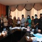Foto bersama jajaran DPRD Kepri, Pemprov, DPRD Bintan dan Tanjungpinang serta PLN