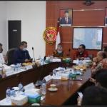 Jajaran Komisi I saat bertanya ke Kabinda Kepr