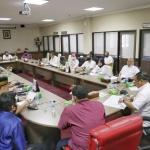 Suasana rapat antara Komisi III DPRD Kepri dengan Pansus RDTR Kota Batam