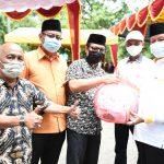 Bantuan masker yang diserahkan Gubernur Kepri, Isdianto