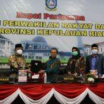 Foto bersama Pjs Gubernur Kepri bersama Pimpinan DPRD Kepri usai tandatangani KUPA PPAS APBDP 2020