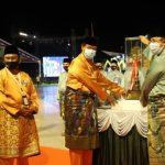 Gubernur Kepri, Isdianto bersama Sekdaprov Arif Fadillah dan Wabup Karimun, Anwar Hasyim