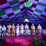 Gubernur Kepri, Isdianto foto bersama para juara masing-masing cabang lomba
