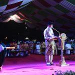 Gubernur Kepri, Isdianto menyampaikan sambutan
