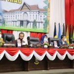 Pjs Gubernur Kepri, Bahtiar Baharuddin bersama Pimpinan DPRD Kepri