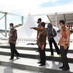 Sekdaprov Kepri Arif Fadillah mengecek satu persatu kesiapan lokasi MTQ