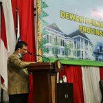 Sekdaprov Kepri Arif Fadillah menyampaikan jawaban pemerintah