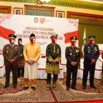 Wakil Ketua II DPRD Kepri, Raden Hari Tjahyono, bersama Gubernur Kepri dan jajaran FKPD